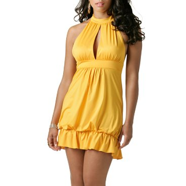 Halter Bubble Dress