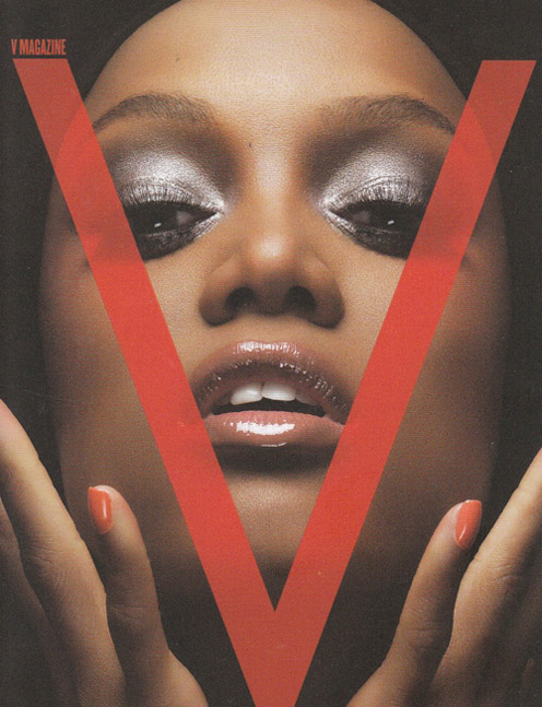 tyra banks modeling pics. Tyra Banks covers V Magazine