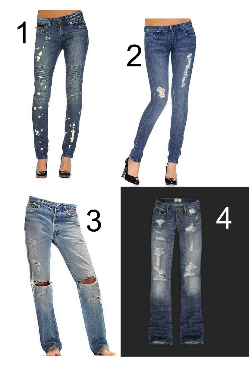 What Not To Do Brandy S Torn Jeans Fashion Manifesto