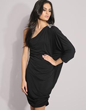jewel drape dress