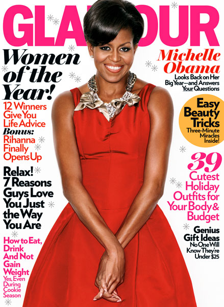 Michelle-Obama-Glamour-Magazine-December-2009