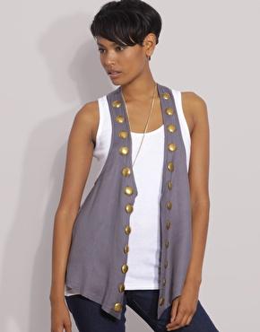 studded waistcoat