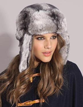 Faux Fur Deerstalker Hat